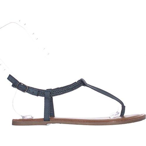 Amerikaanse Rag Womens Krista Ronde Neus Casual T-strap Sandalen Diepblauw