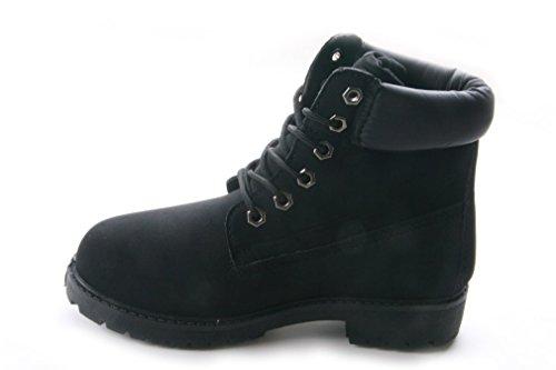 Femme Mojoshu Desert Mojoshu Desert Boots Femme Noir Boots Noir IqWA60v