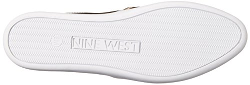 Negen West-dames Lildevil Synthetische Mode-sneaker Lichtroze / Wit