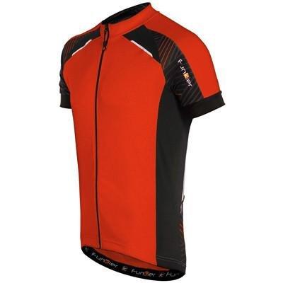 Funkier Men's Firenze Short Sleeve Cycling Jersey (X-Large, Red) from Funkier