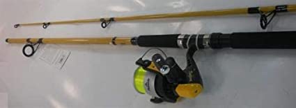 Amazon Com Pinnacle Fb1002com 10 Ft Fish Bonz Surf Spinning Rod And Reel Combo 19763 Sports Outdoors