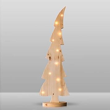 Weihnachtsdeko Holz Modern.Weihnachtsbaum Natur 105 Cm Mit 20 Led 25 074 Tannenbaum