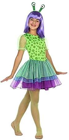 Fancy Me Disfraz de Alien Marciano para niñas de 3 a 12 años ...