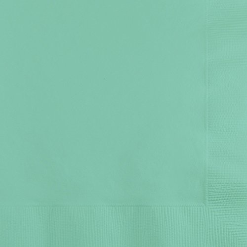 Creative Converting Fresh Mint Lunch Napkins Party Supplies, Multicolor