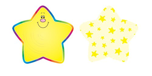 Stars Mini Accents - Carson Dellosa Stars Cut-Outs (120013)