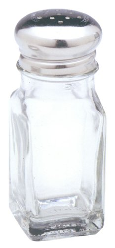 - Norpro 742 Glass Salt or Pepper Shaker, Clear
