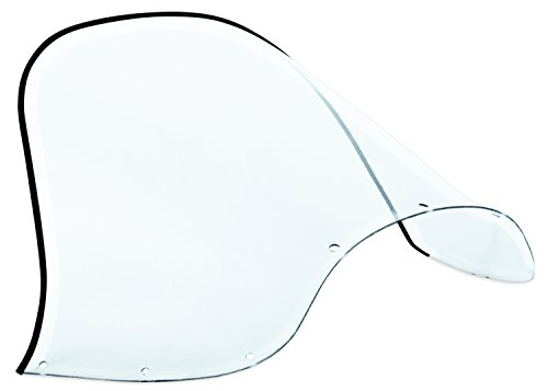Kimpex Polycarbonate Windshield - Standard - 12.5in. - Smoke 06-457-01