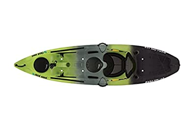 58293 Third Coast Avalon 100 Sit On Angler Kayak (Citron/Black/Gray) from KL Industries