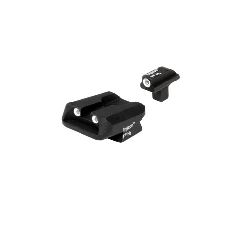 Trijicon 3 Dot Front And Novak Rear Night Sight Set for Colt Officers