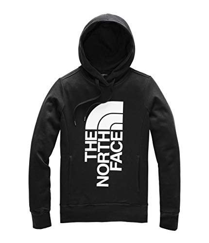 The North Face Women's Trivert Pullover Hoodie, TNF Black/TNF White, Size M ()