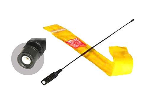 UpBright 16 Dual Band Radio BNC Antenna For Uniden BC72XLT, BC75XLT, BC92XLT, BC95XLT, BC125AT, BC246T, BC296D, SC230 Portable Handheld Scanner