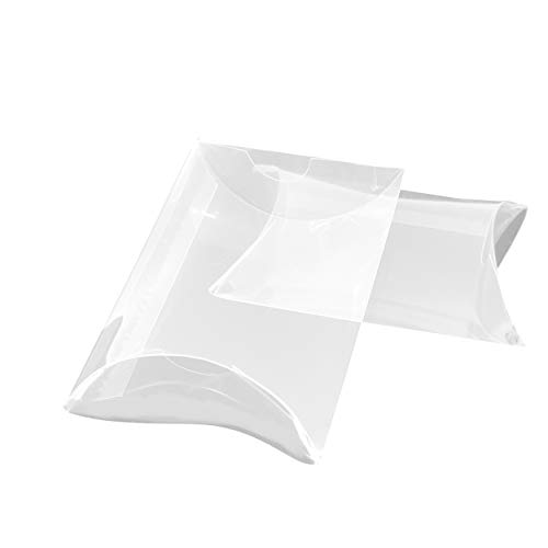 (Clear Wedding Party Favors Boxes Plastic Candy Treat Pillow Boxes Small Gift Boxes Engagement Bridal Shower Baby Shower Birthday Party Favor Boxes,)