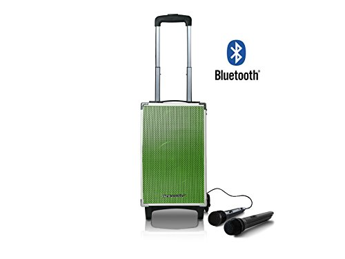 Read About Pure Acoustics MCP-100 Portable Bluetooth Speaker Wireless Grille PA System with Wireless...