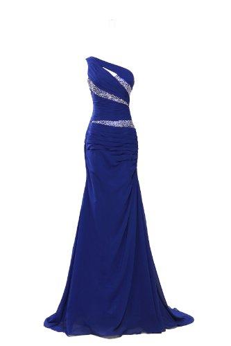 Blau MISSYDRESS Kleid Shoulder One Damen wOqIp