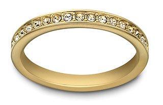 f368d97b6c852 Swarovski Rare Ring, gold-plated
