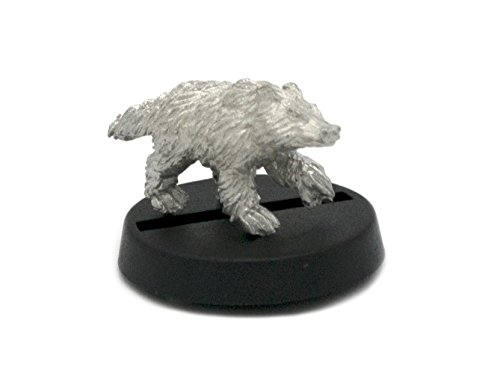 Stonehaven Badger Miniature Figure (for 28mm Scale Table Top War Games) - Made in USA