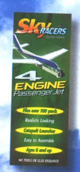 Sky Racers 4 Engine Passenger Jet By White Wings