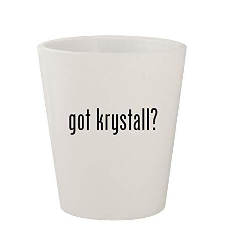 got krystall? - Ceramic White 1.5oz Shot Glass ()