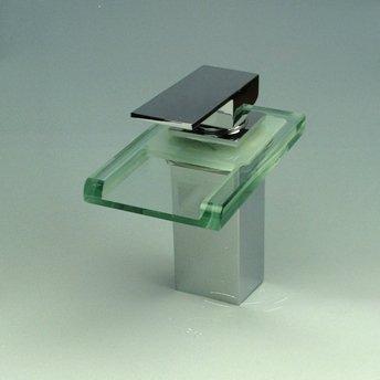 Armatur Wasserhahn Glas Chrom offener Wasserlauf | Auch für ... | {Armaturen badewanne 98}