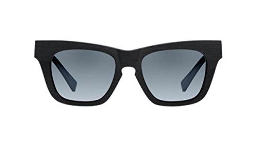 Filtrate Eyewear Voyeur Sunglasses Black Raw & Grey - Raw Eyewear