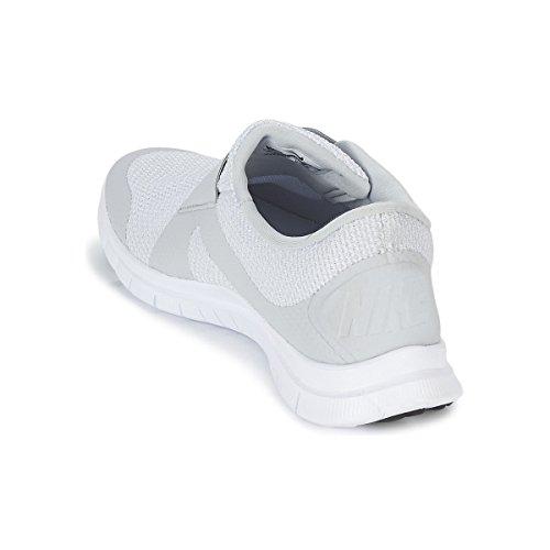 Nike Men's Free Socfly Running Shoes, 6 Grey / White (Pure Platinum/Pr Pltnm-white)