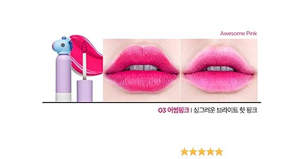 BTS BT21 X VT COSMETIC Glow Lip Lacquer - Lápiz de labios (4 colores)