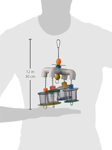 Super Bird Creations 12 by 7-Inch 4 Way Forager Bird Toy, Large by Super Bird Creations (Image #1)