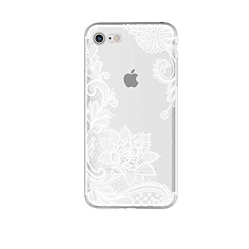 Amazon.com: Lace Mandala Case for iPhone - White, for Redmi ...