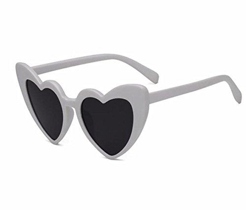 UV400 en Americano RDJM a Corazón Sol y Multicolor Gafas b Mujer Sol de Estilo Gafas para Opcional Europeo de Personalizadas Forma de CTr817nC