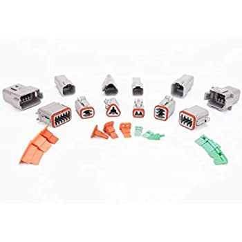 CNKF 20 Sets DT series male terminal auto Waterproof Electrical Connector Plug housing 0460-202-16141