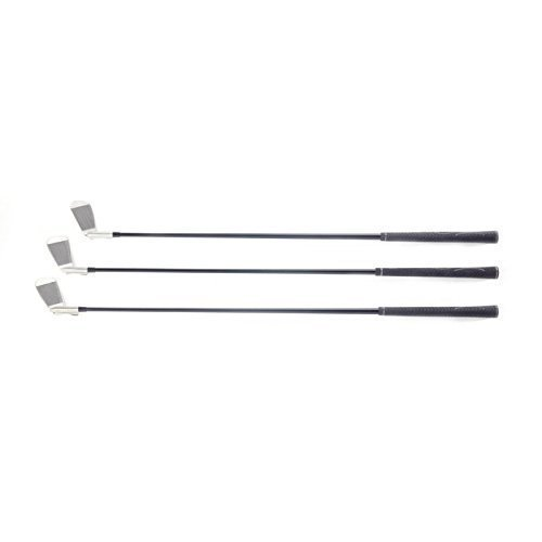 Lightest Golf Clubs for a Man or Woman – 3 Irons Replace 9 - Walk the Course With a Fraction of the Weight ! Adjustable Iron Set – Walking Sticks Golf by Walking Sticks Golf (Image #7)