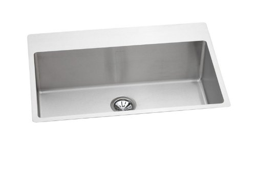 Elkay EFRTUS3322101 Avado Slim Rim Single Bowl Classroom Sink, Stainless Steel