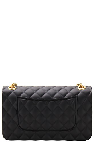 Luxury Luxury Silicone Quilted Silicone Crossbody Bag pf6qvwT