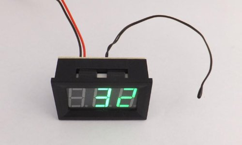 """UPC 868138261607, SMAKN 0.56"""" Dc Temperature Monitor -30°c~+70°c Green LED Digital Display Thermo Meter Panel"""