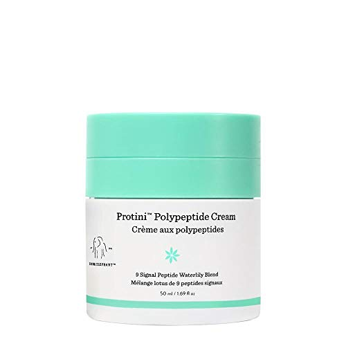 Drunk Elephant Protini Polypeptide Cream. Protein Face Moisturizer with Amino Acids (50 milliliters, 1.69 ounce)