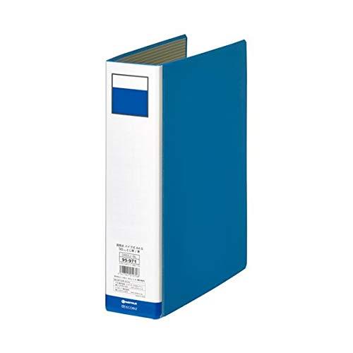 (まとめ) スマートバリュー パイプ式ファイル両開き青10冊 D055J-10BL【×3セット】 生活用品 インテリア 雑貨 文具 オフィス用品 ファイル バインダー クリアケース クリアファイル 14067381 [並行輸入品] B07PGW4R1S