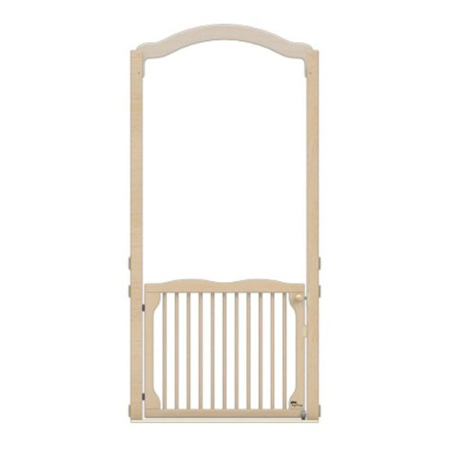 (KYDZ Suite 1553JC Welcome Gate with Arch, Tall, A or E-Height, 84