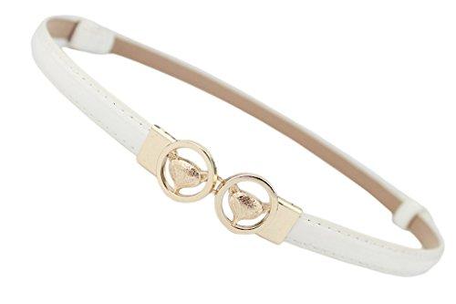 COMVIP - Cinturón - para mujer blanco