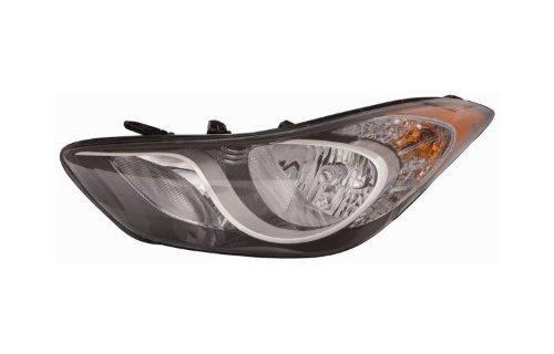 Hyundai Elantra 11-13 / Coupe 13 Headlight Assembly Korea Built LH USA Driver Side
