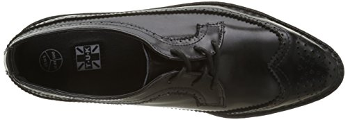 T.U.K. Pointed Creeper, Scarpe Stringate Basse Brogue Uomo Nero(black)