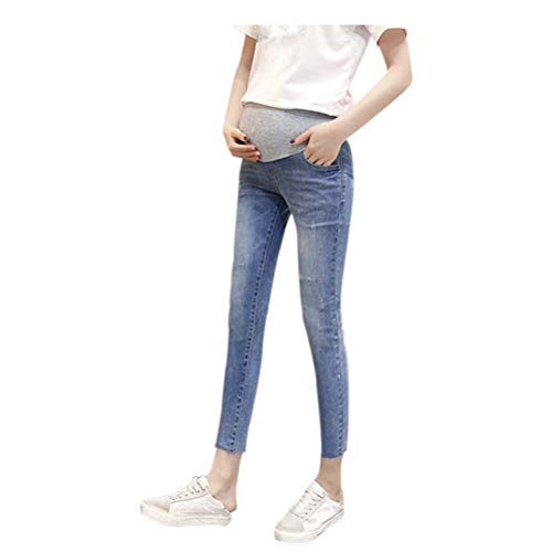 Leggings 17 Meijunter lastiques de maternit Jean Mom Maigre Style Femmes Pantalon nv0txv