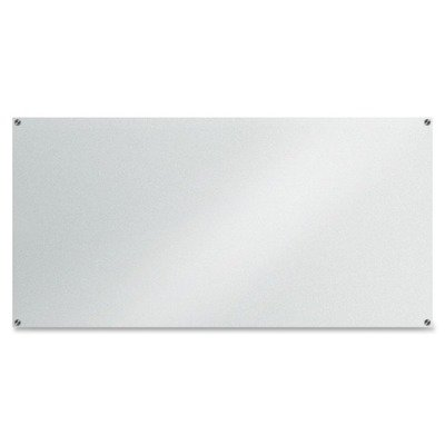 Lorell Glass Dry-Erase Board, 72''x36'', Frost (LLR52500) by Lorell