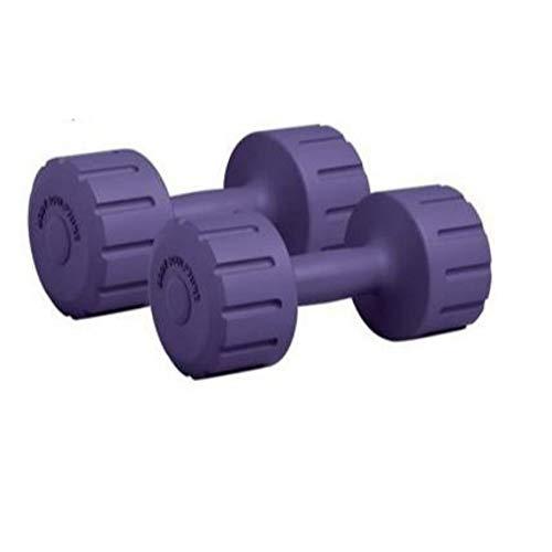 Gamma Fitness PVC Dumbbell (1 Kg, Multicolour), PVC