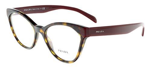 Prada Women's 0PR 02TV Tortoise One Size ()