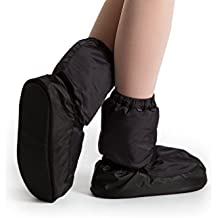 Bloch Girl's Dance Warm Up Man Made Special-occasion Booties