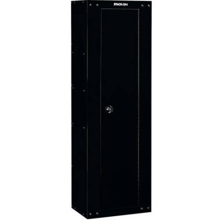 Stack On 53 inches Gun Firearm Steel Security Safety Storage Cabinet with Locking System