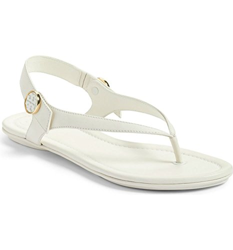 85a30ecb90dce1 Tory Burch Minnie Travel Metallic Leather Sandals in New Ivory 104 Size 7  by Tory Burch