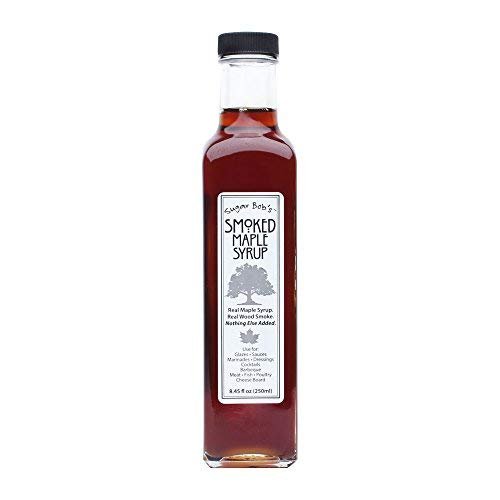 Sugar Bob's Finest Kind Smoked Maple Syrup 8.45 fl oz Made In Vermont