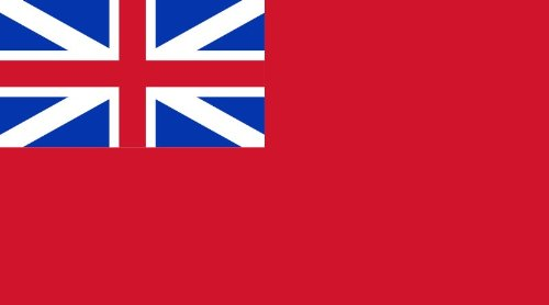 3' x 5' British Red Ensign Flag - Nylon