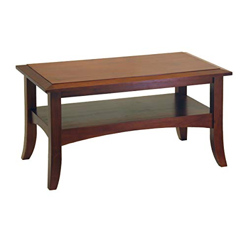 (Winsome Wood 94234 Craftsman Occasional Table, Antique Walnut)